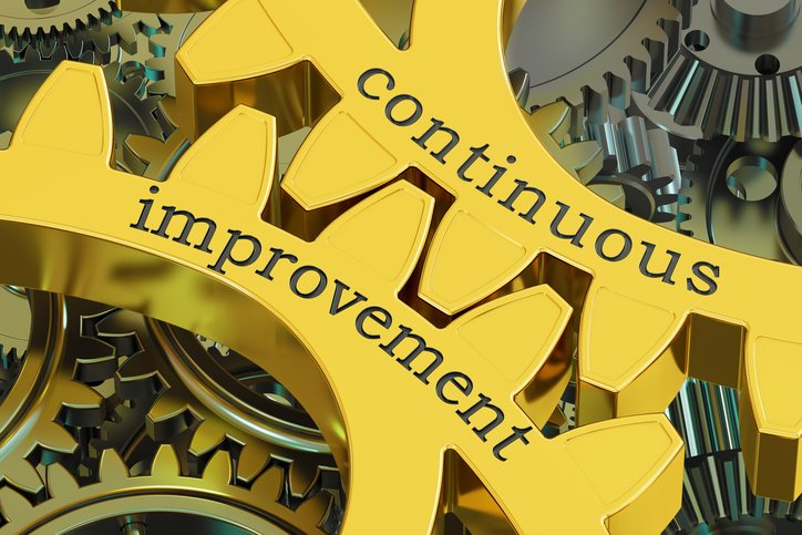 Working toward continuous improvement in manufacturing